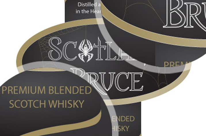 Scotland Bruce Logo and Pack Design